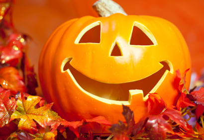 Due idee per decorare la zucca di Halloween